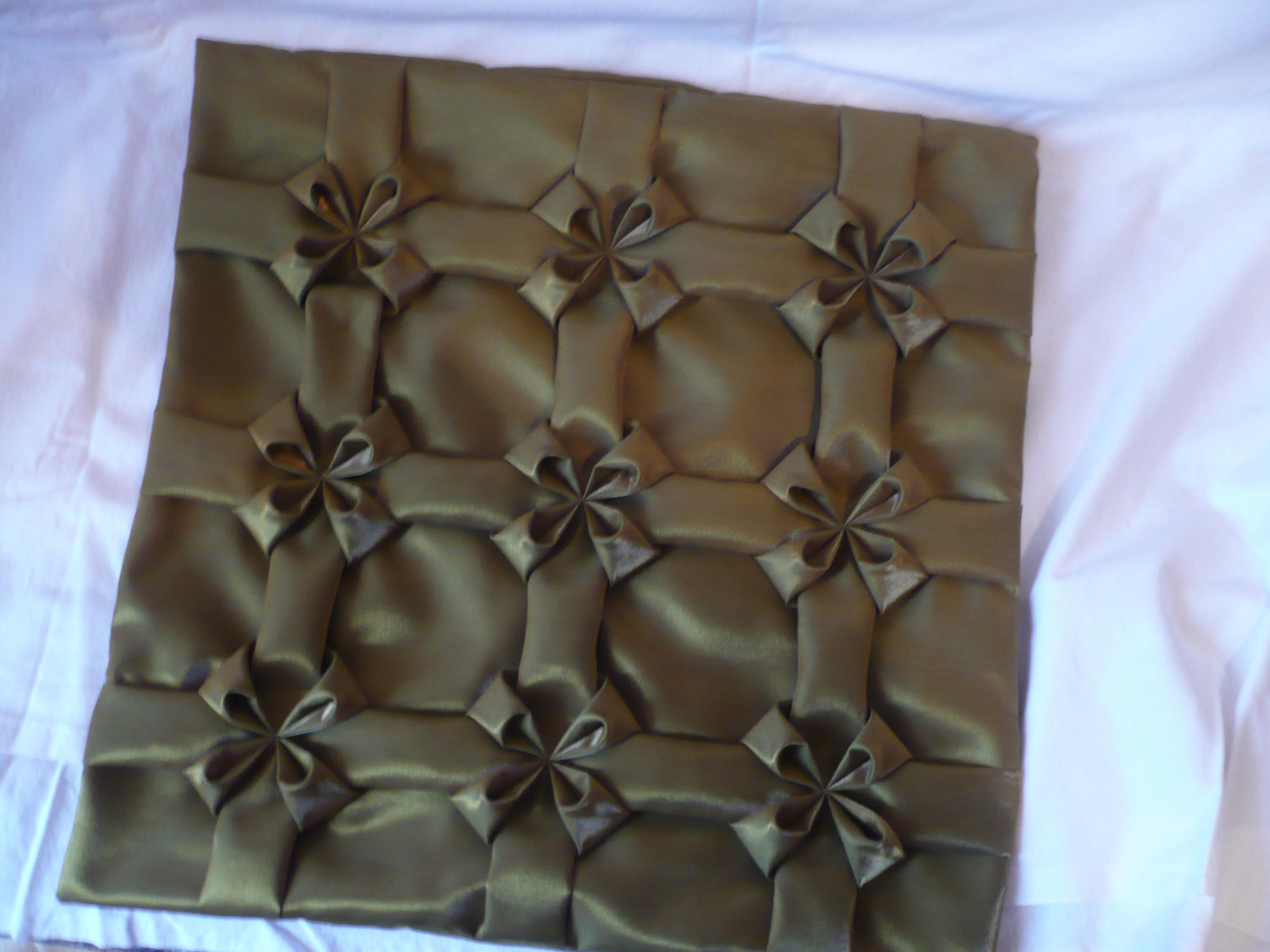 Декоративный подушки своими руками буфы