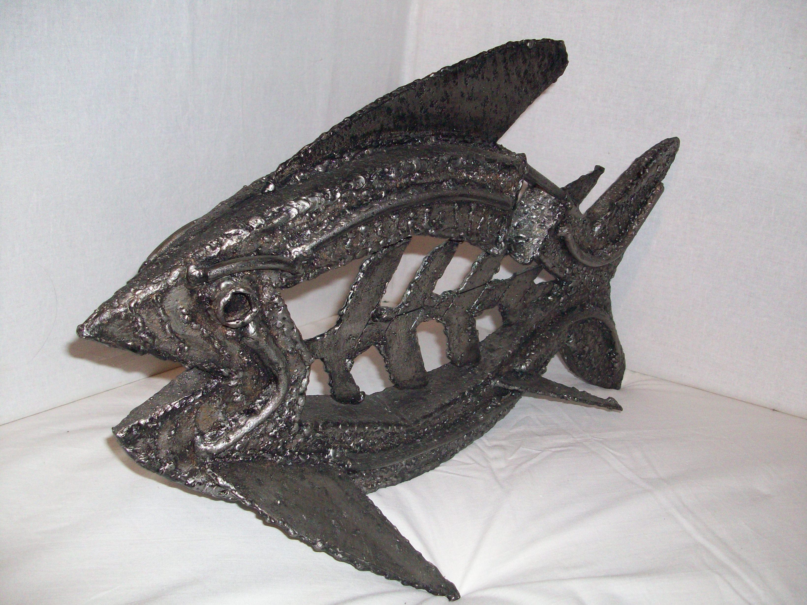 Рыба из металла своими руками 13