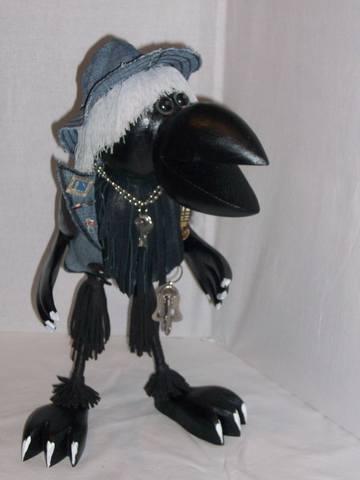 Костюм ворона из подручных материалов ребенку