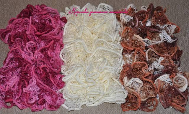 3 шарфика