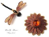 Цветок и стрекоза 2