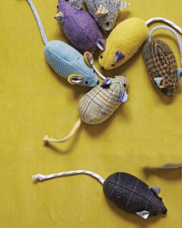 Сделать игрушку мышку своими руками