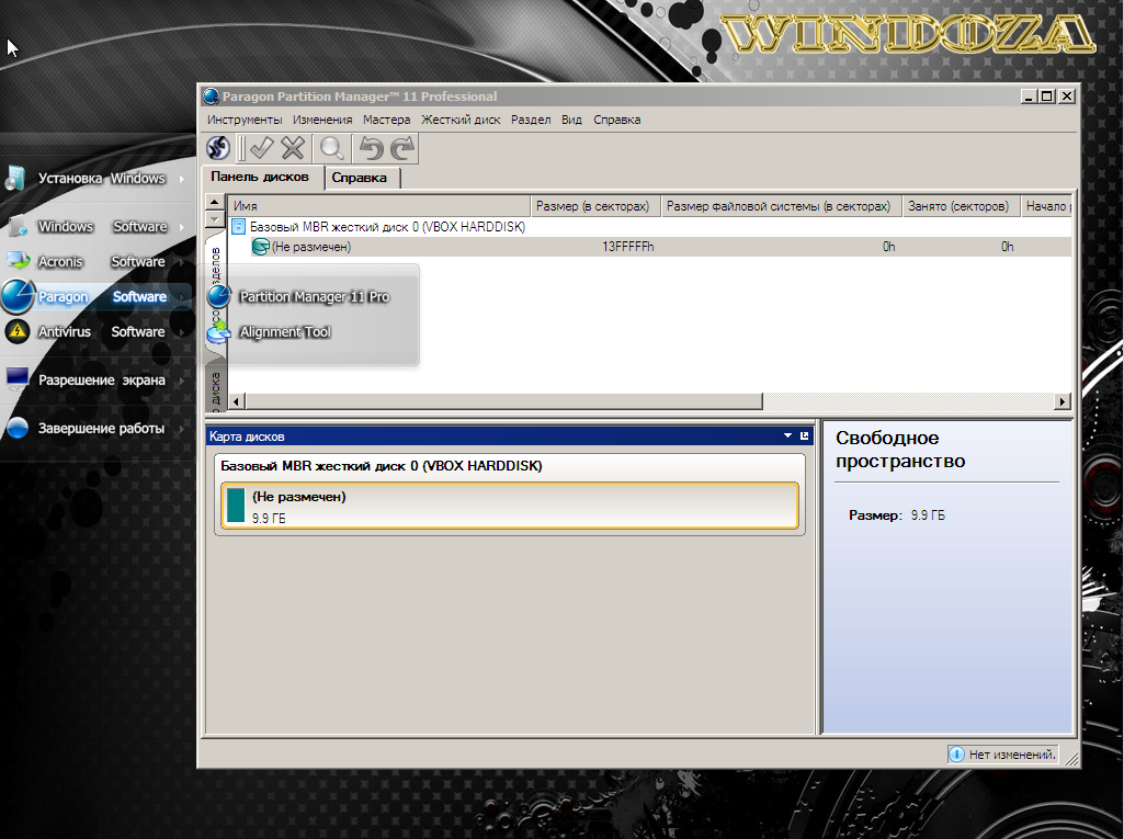 WinDoZa Live & Boot by Core-2 2.5.9