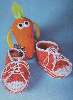 Пинетки, носочки, тапочки - для детей 598941_m