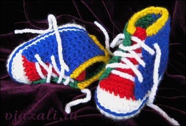 Пинетки, носочки, тапочки - для детей 599085_m