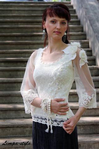 Блузка Из Кружева В Омске