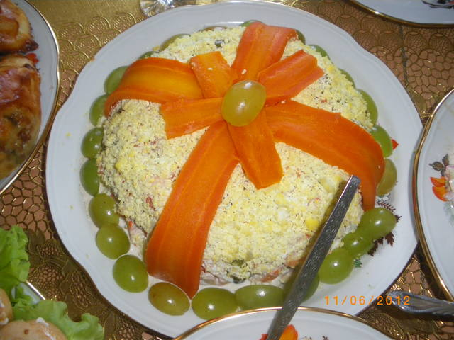 Салат подарок рецепты