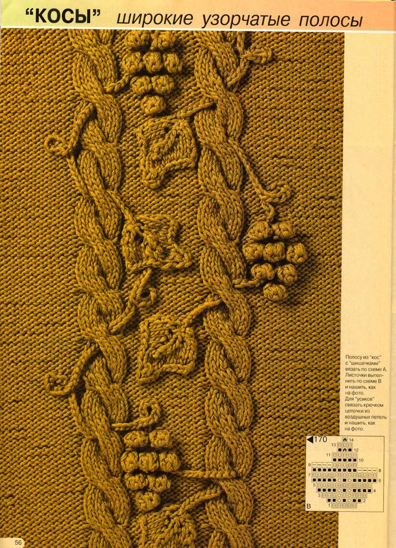 Вязание косы кельтская