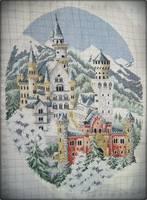 Вышивка замка Нойшванштайн - Риолис 76
