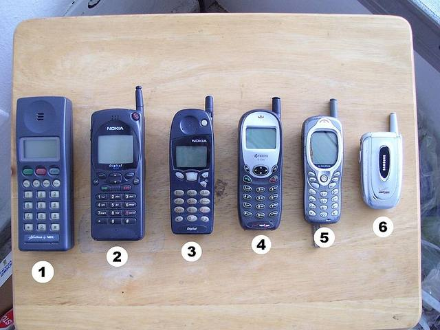 старые сотовые телефоны фото 3