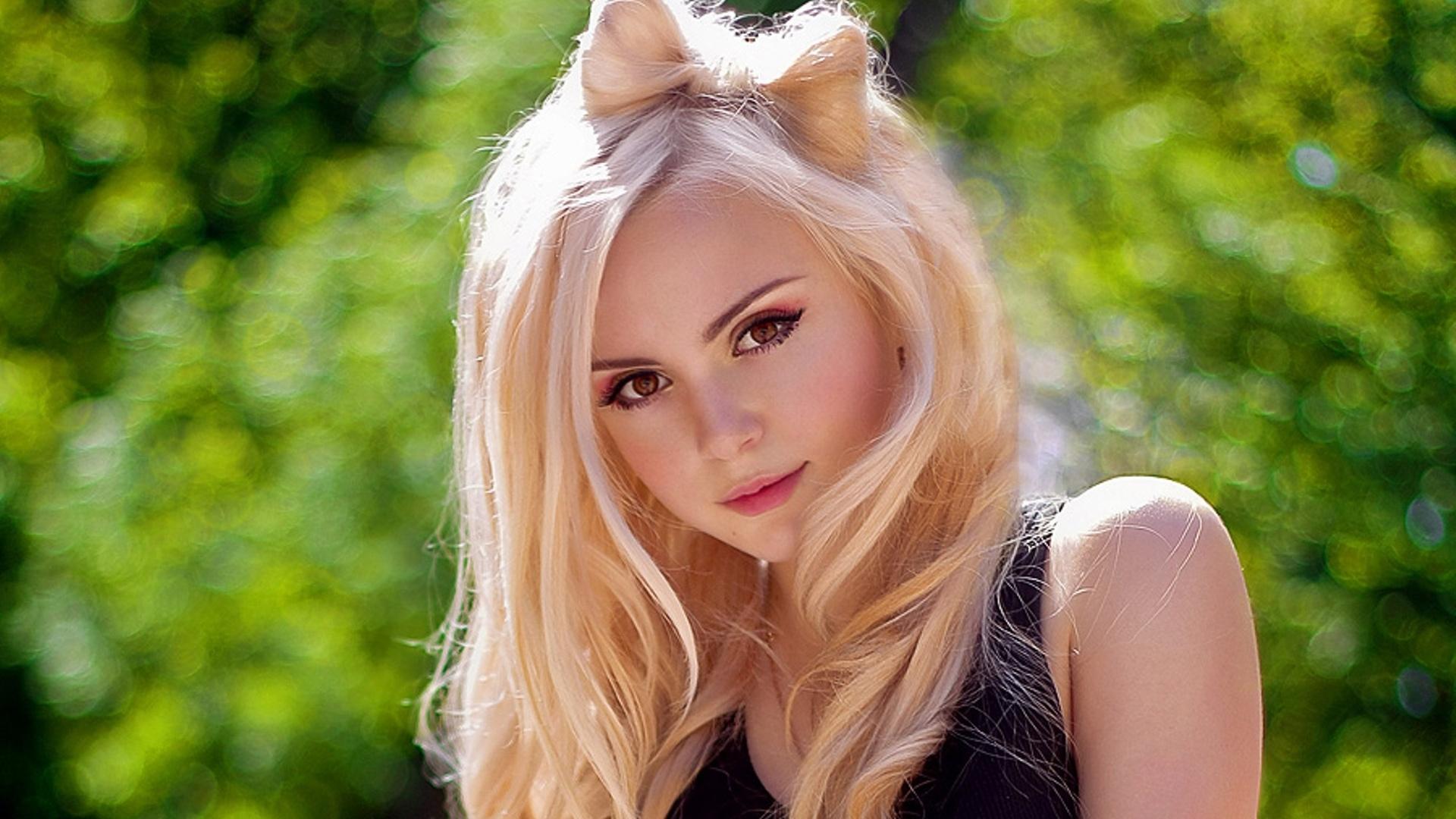 Фото простых девушек блондинок 9 фотография