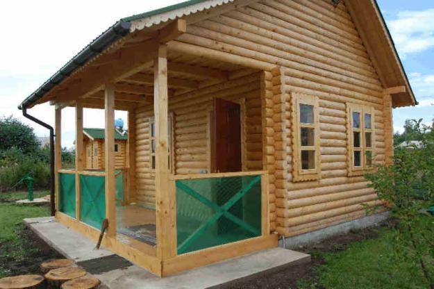 строительство дачи - услуги плотников