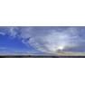 Оренбургская степь, панорамная фотография