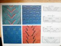 Ажуры для машинного вязания схемы 58