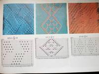 Ажуры для машинного вязания схемы 77