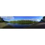 Берег реки Урал, панорамная фотография