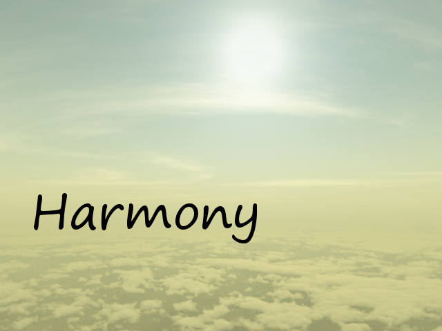 harmony screenshot