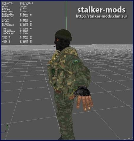 модели для игры сталкер