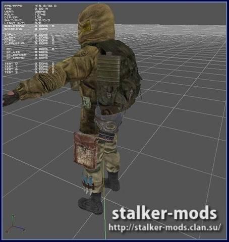 лучшие модели для игры сталкер зов припяти