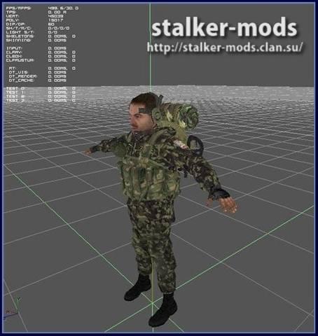 лучшие модели для игры сталкер зов припяти скачать
