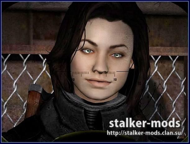 модели сталкеров женщин для игры сталкер зов припяти