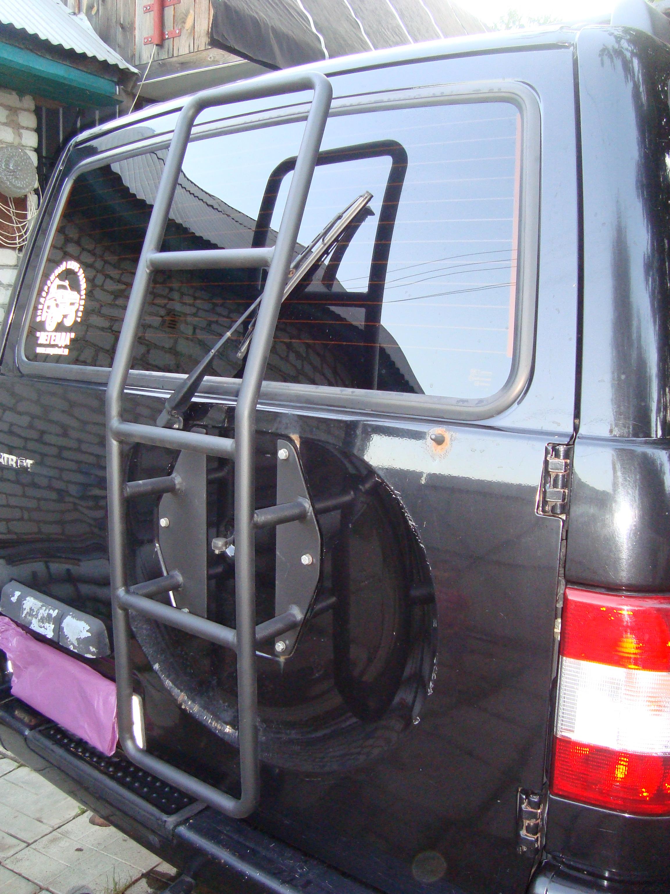 Фото багажник на уаз патриот своими руками