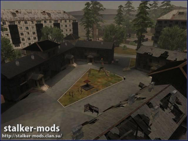 локация пригород для игры сталкер
