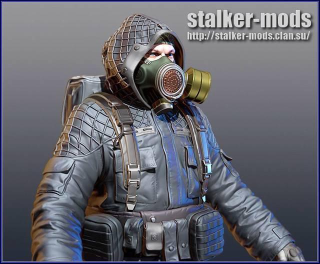 модель сталкера из игры сталкер 2