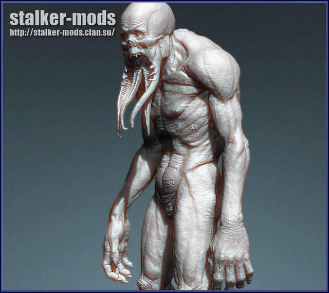 картинки монстров сталкер 2