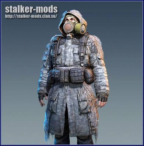 модели игроков из игры сталкер 2