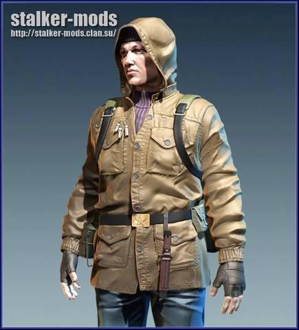 модели персонажей из игры сталкер 2