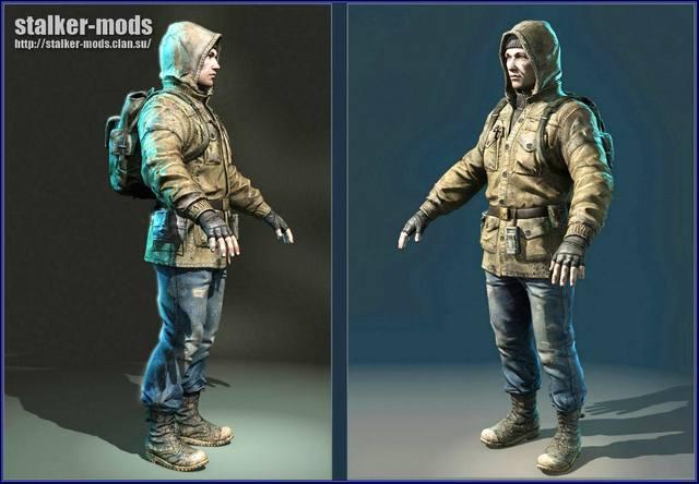 модели персонажей сталкер 2