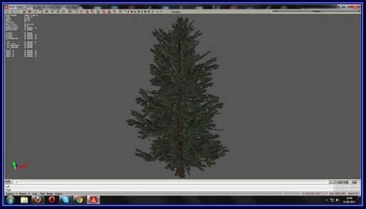 дерево - модель для сталкер