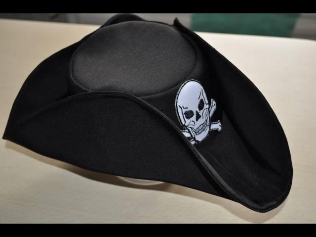 Как сделать шляпу пирата своими руками фото