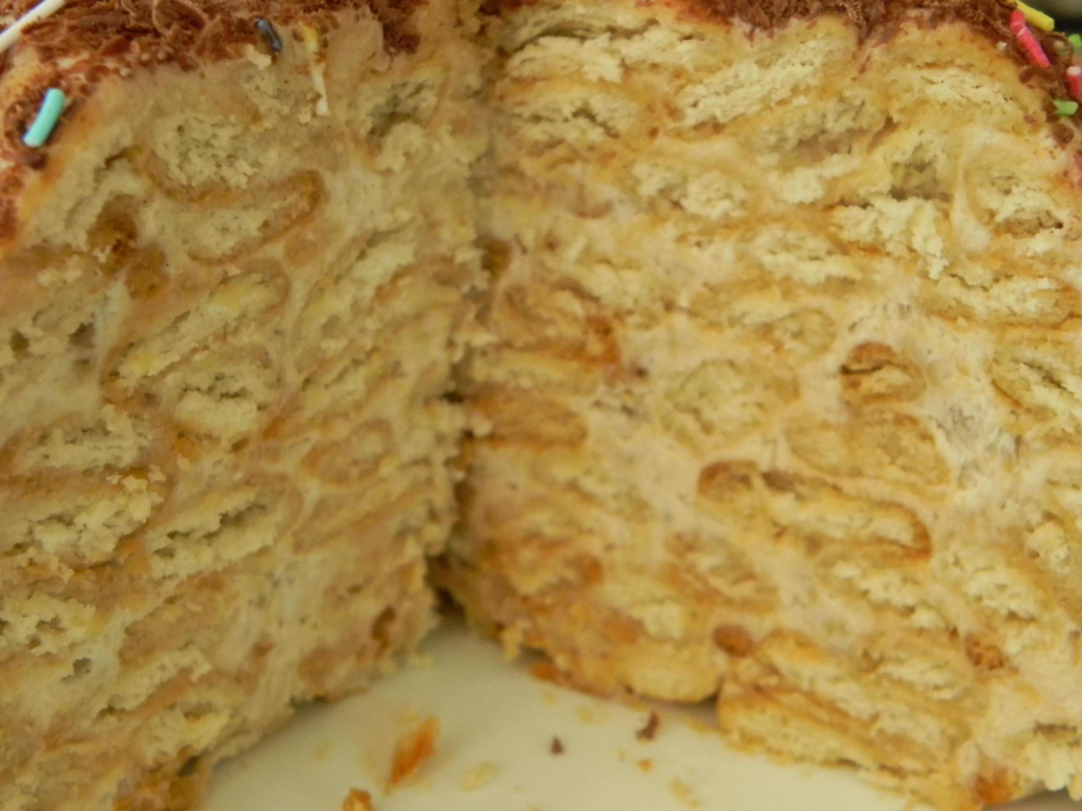 Торт панчо из пряников пошаговый рецепт