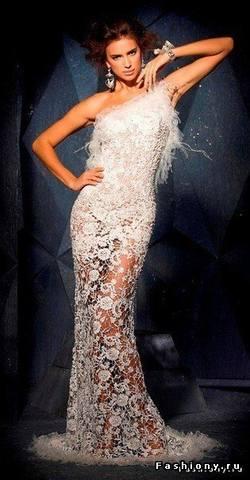 Вязанные свадебные платья -> Ярпортал, форум Ярославля