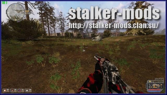 новые текструры оружия сталкер 2012