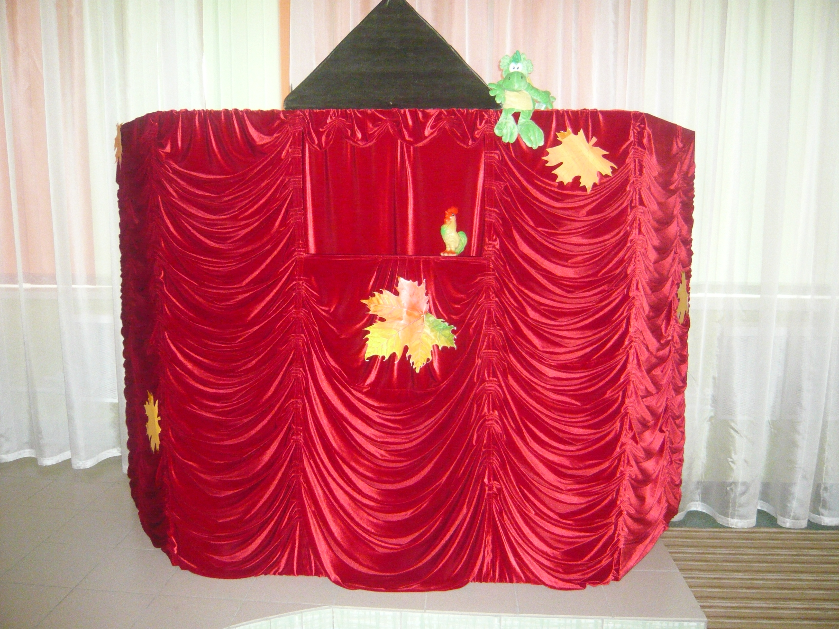 Кукольный театр. Ширма своими руками 41