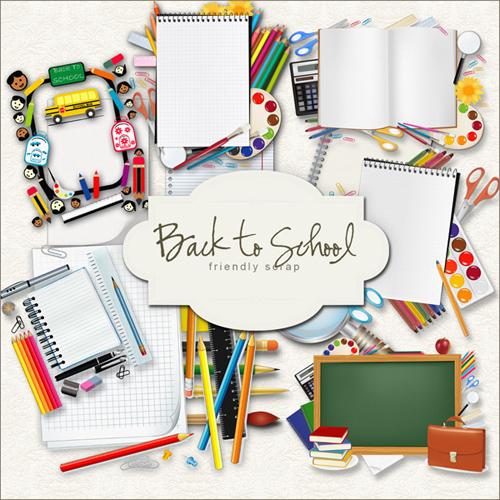 Scrap kit - School Accessories