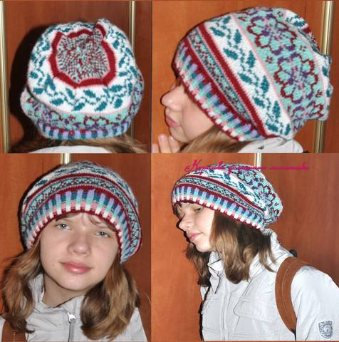 коллаж шапка