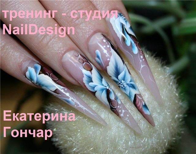 Фото мастер класс дизайн ногтей