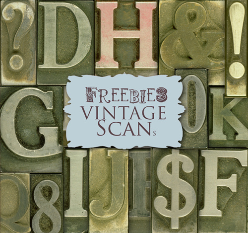 Scrap kit - Alphabet in Old style