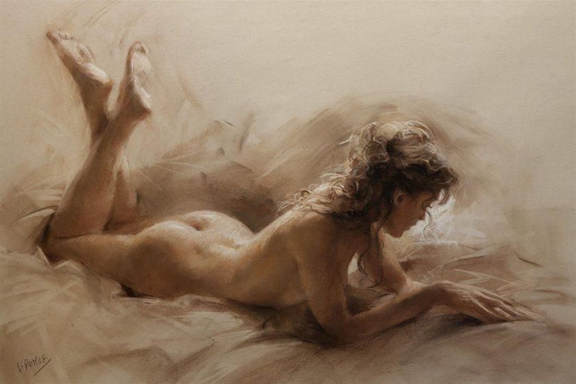 Картинки по запросу голые девушки на картинах