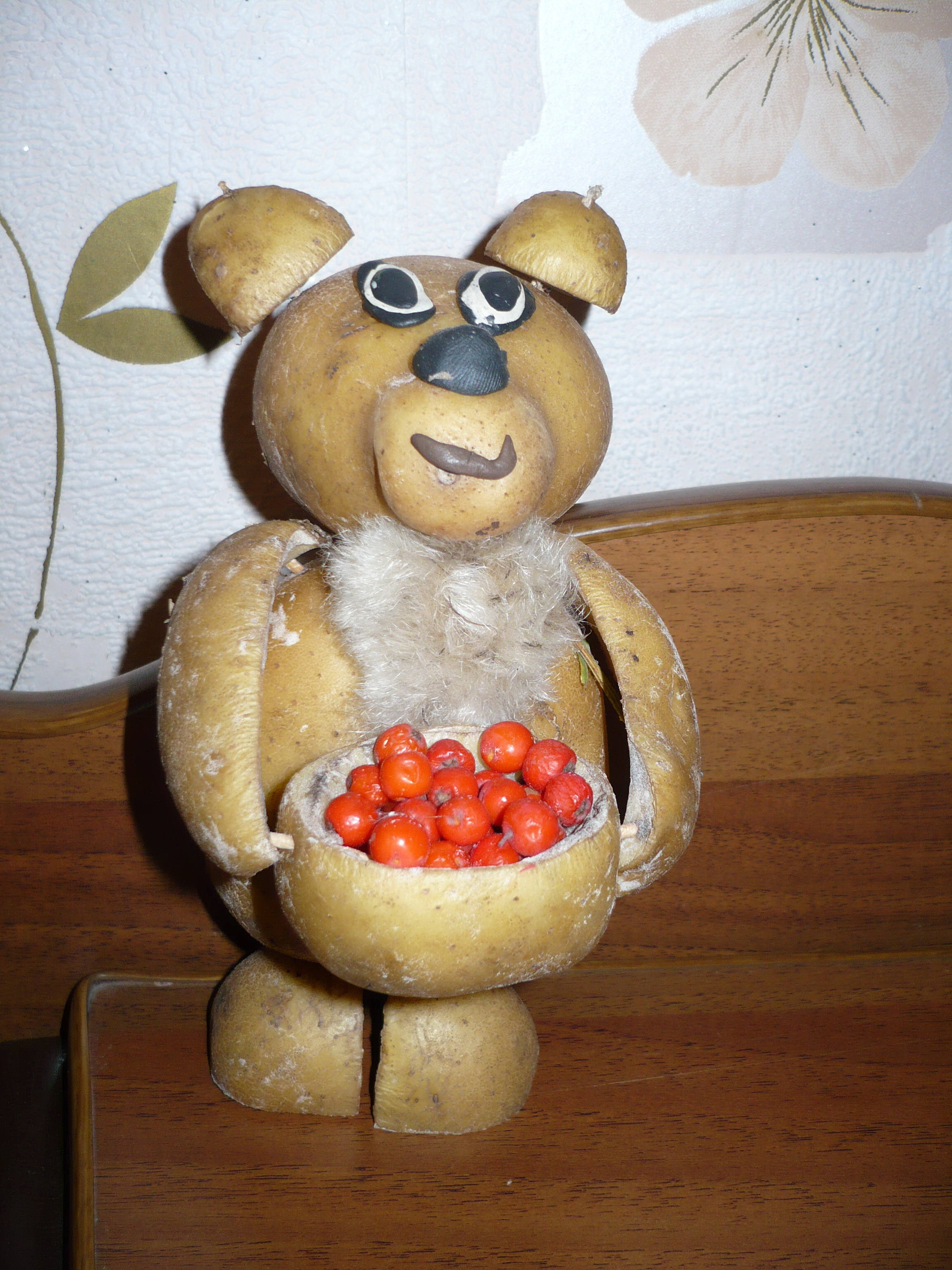 Поделки из овощей своими руками к празднику осени в