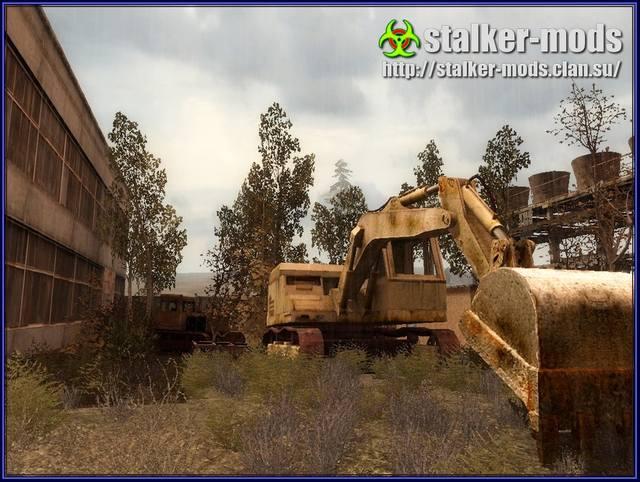реалистичная зона - модификации сталкер