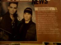 Blog de tokio-hotel2 : • Le Fan Club Officiel Fran�ais de Tokio Hotel •, • • Tokio Hotel • •