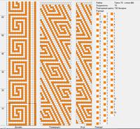 грек для Диназ - 16 двуцветный тонкий