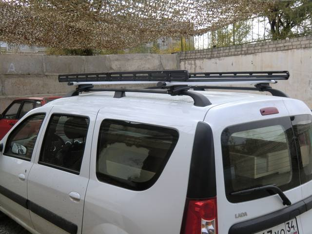 Багажник на крышу ларгус