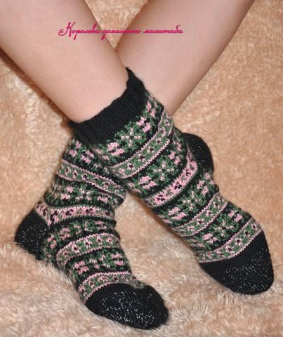 носки цветолесье блог1