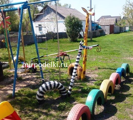 Детские площадки в дет. садах